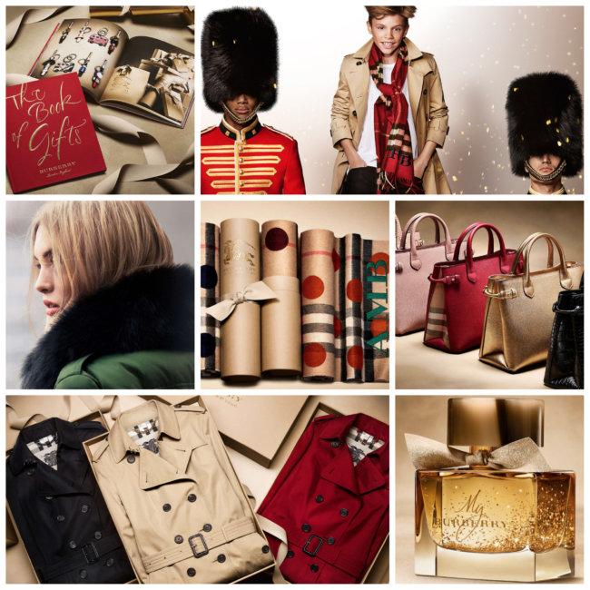 Brand di lusso: Burberry.
