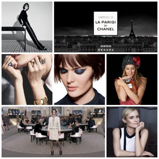Brand di lusso: Chanel.