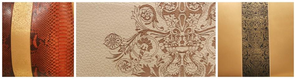Dettagli borse di lusso made in Italy Sapaf Atelier 1954.
