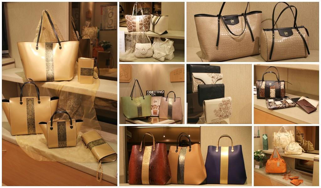 Nuova collezione borse di lusso in pelle Sapaf Atelier.