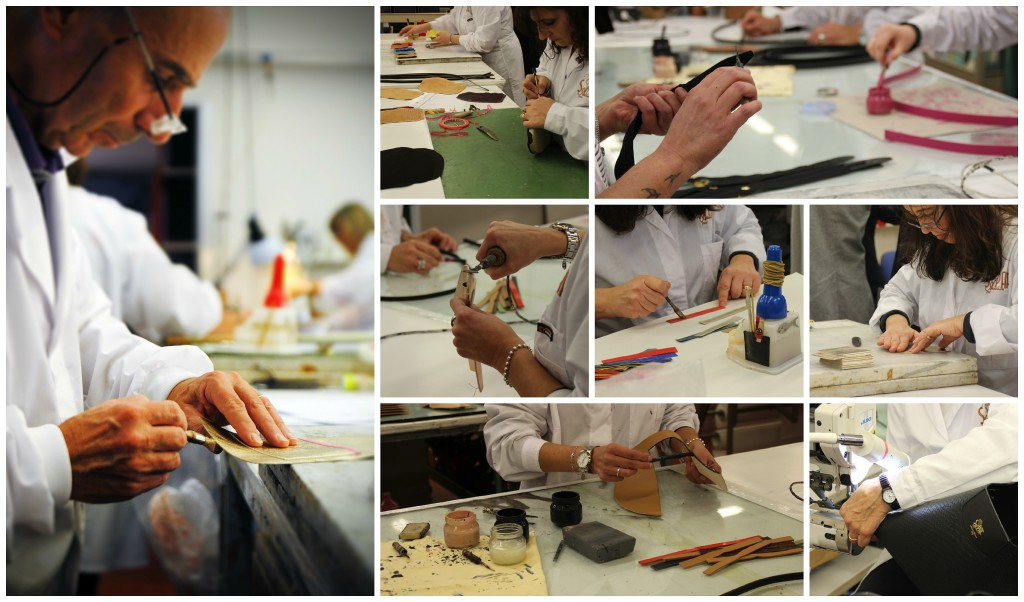 Bag laboratory made in Italy Sapaf Atelier.