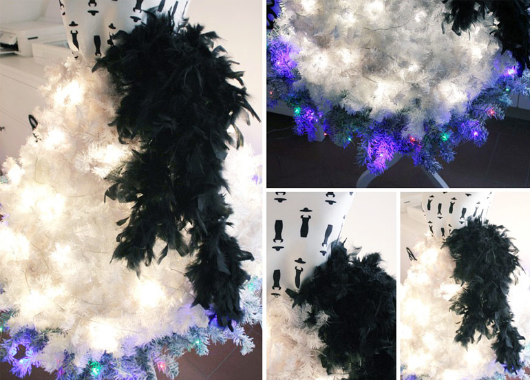 Fashion skirt Christmas tree.