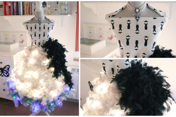 Christmas tree by Fashion Snobber