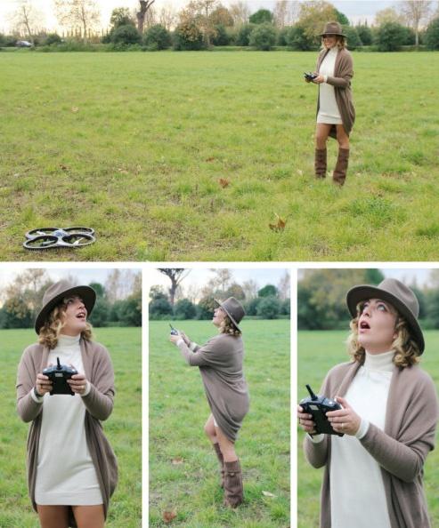 Come divertirsi con un drone.