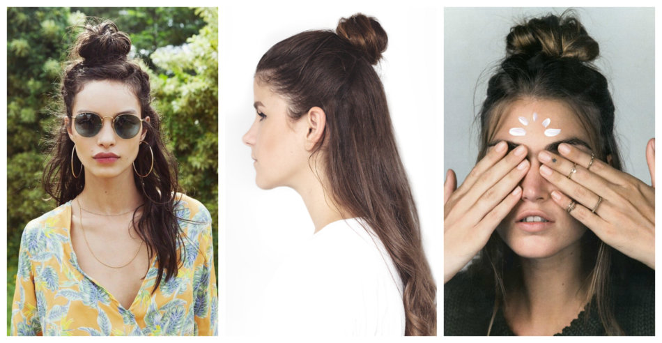 Chignon hairstyle inspirations.