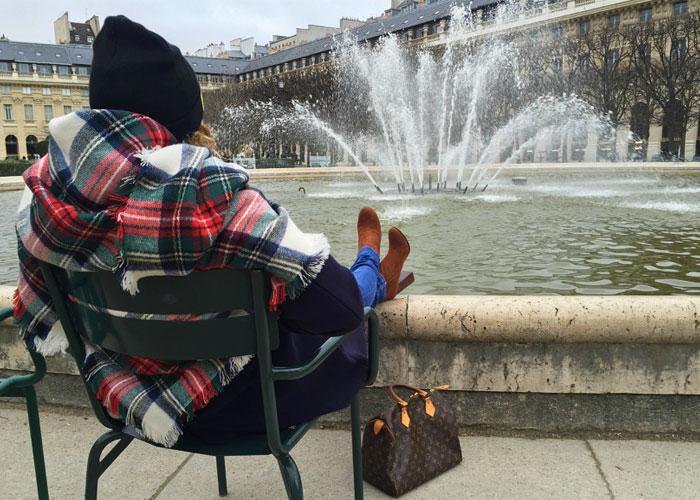 Relax in Paris.