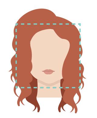 Face square shape.