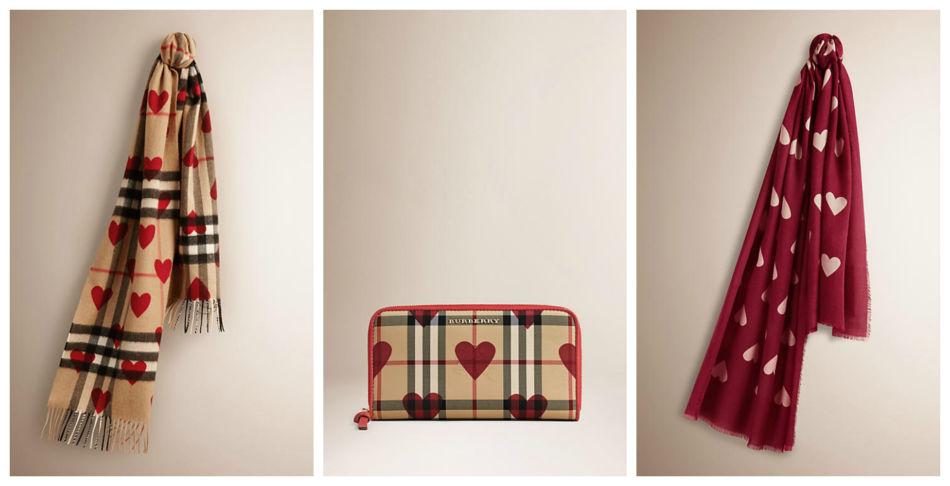 Idea regalo di San Valentino Burberry.