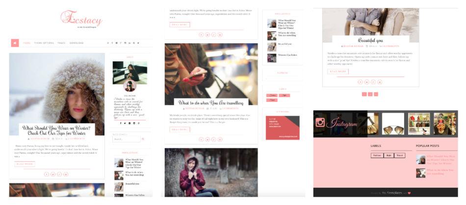 Come scegliere miglior template gratuito per blog su piattaforma Blogger.
