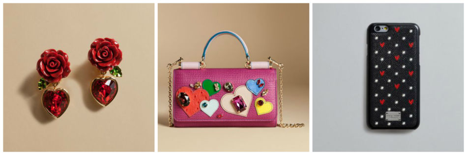 D&G Valentine's day collection.