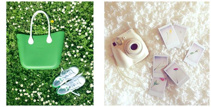 Migliori flat lay su Instagram.