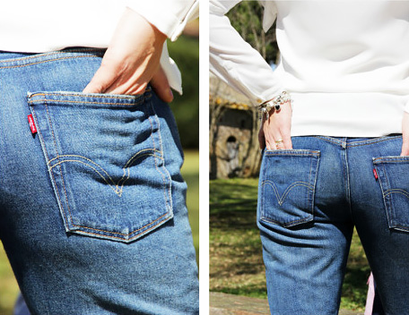 How to wear Levi's 501 jeans.