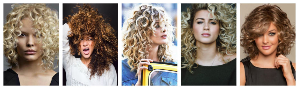 Capelli ricci - Curly hair.