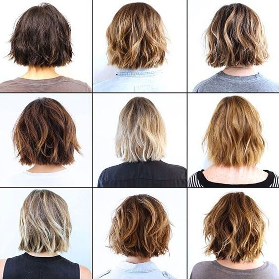 How to behave at the hairdresser. Bob haircut inspirations.