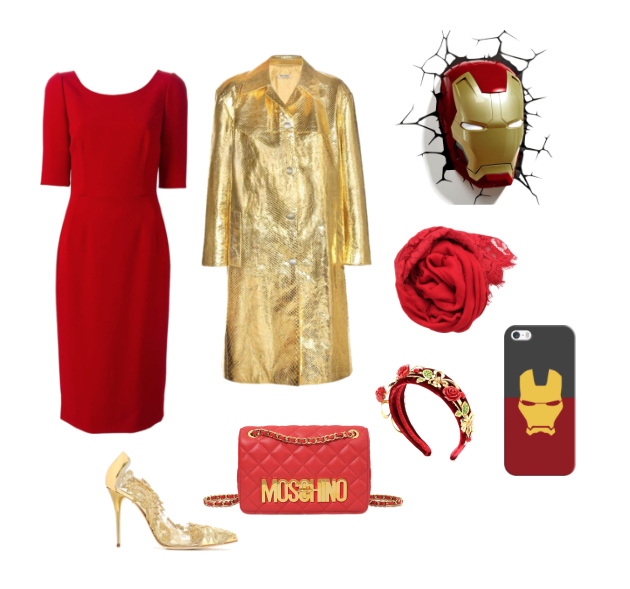 Iron Man inspiration style outfit.