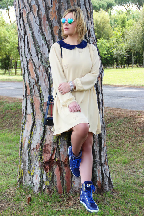 How to wear bon ton dress.