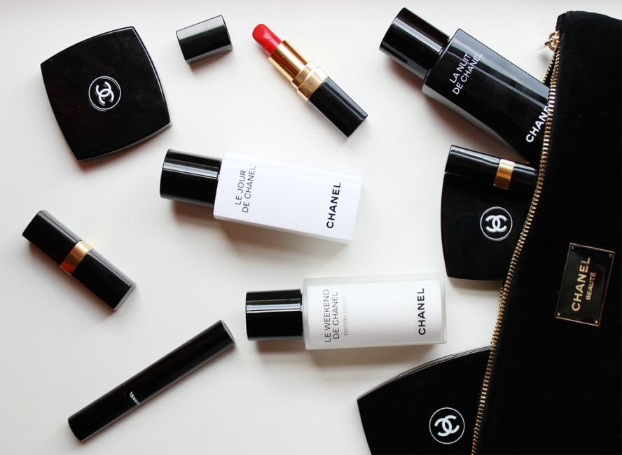 Beauty routine Chanel. Le Jour, La Nuit and Le Weekend.