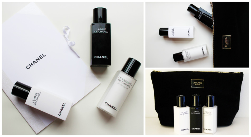 Complete Chanel face cream treatment.
