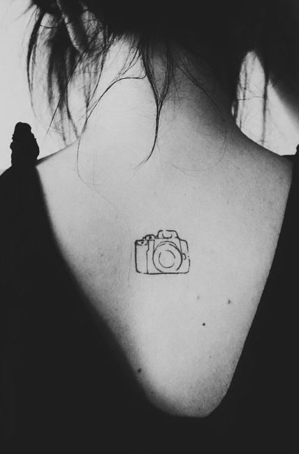 Tattoo camera.