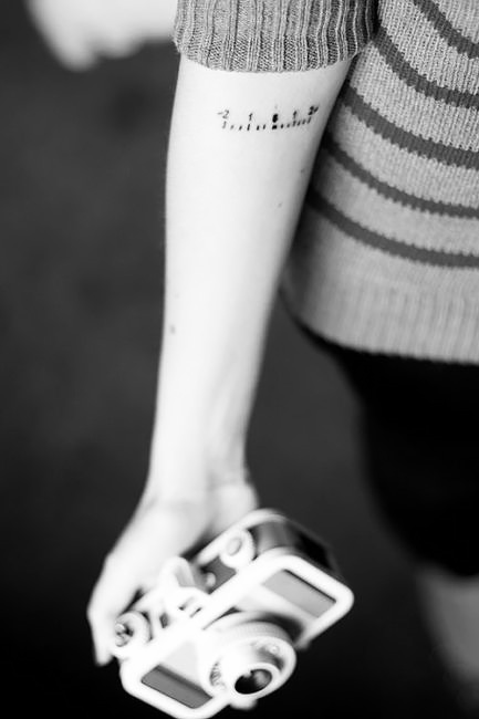 Idee tatuaggi per chi ama la fotografia.