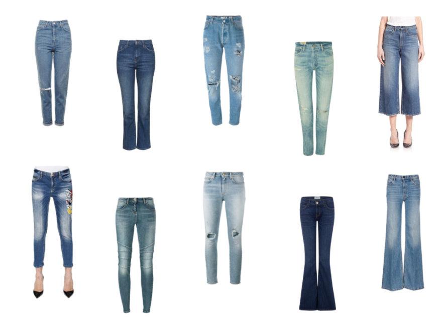10 modelli di jeans che non passano mai di moda Blog di moda