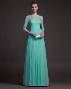 Tiffany ceremonial dress.
