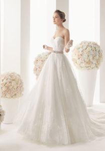 AleMilano wedding dress.