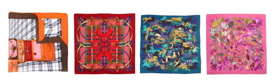 Essential clothing items for a perfect wardrobe: Hermès foulard.