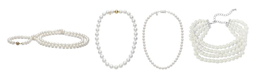 Accessori indispensabili per un guardaroba perfetto: il girocollo di perle.