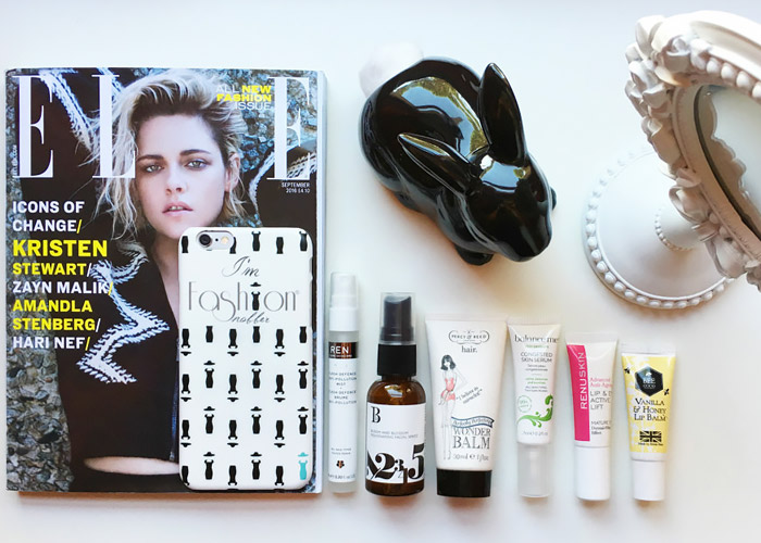 Lookfantastic beauty box.
