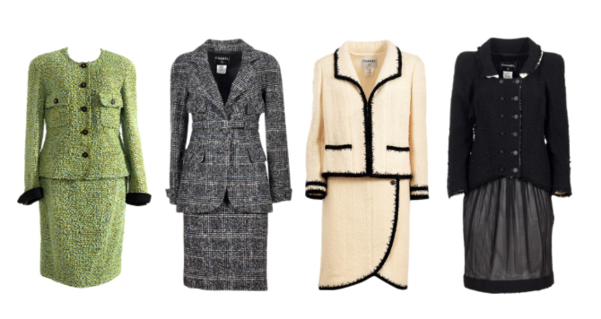 Essential clothing items for a perfect wardrobe: Chanel-style tailleur.