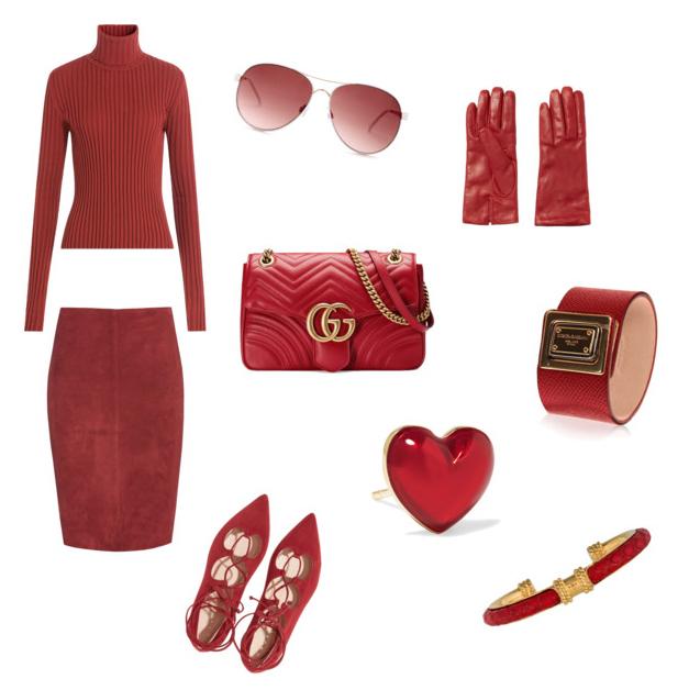 Aurora Red fashion color autumn winter 2016.