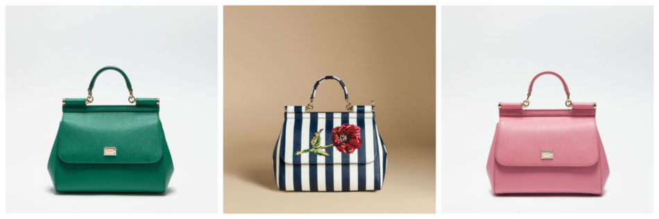 Sicily by Dolce & Gabbana most popular fashion bags.
