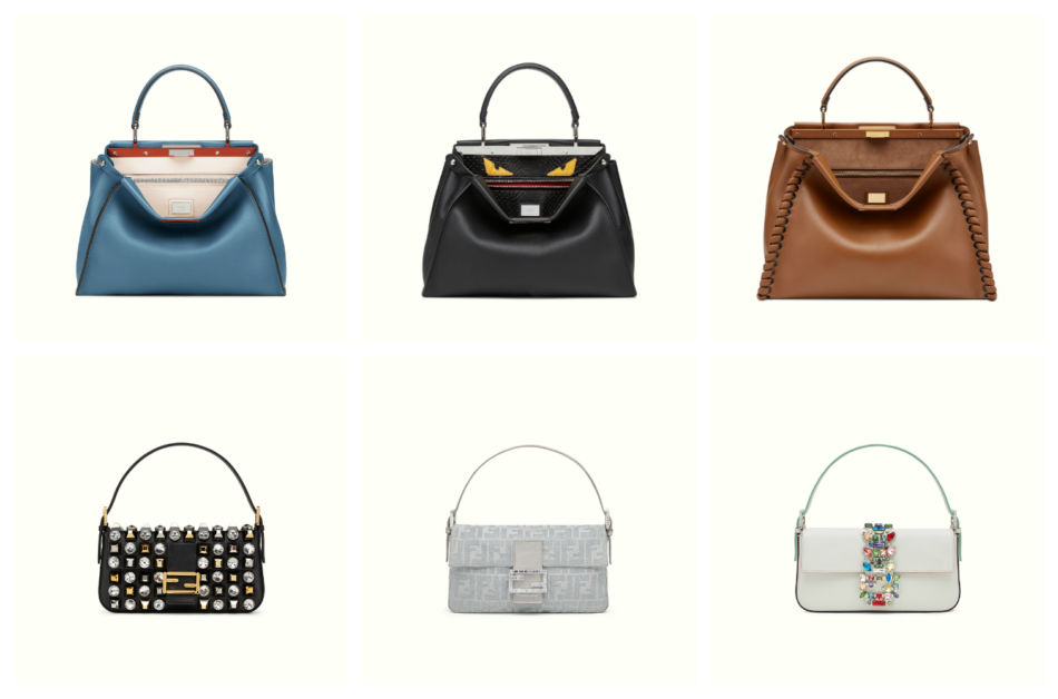 The most desired Fendi women's bags in the world.