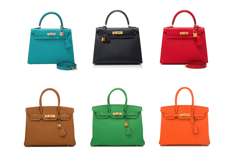 The most desired Hermès women's bags in the world.