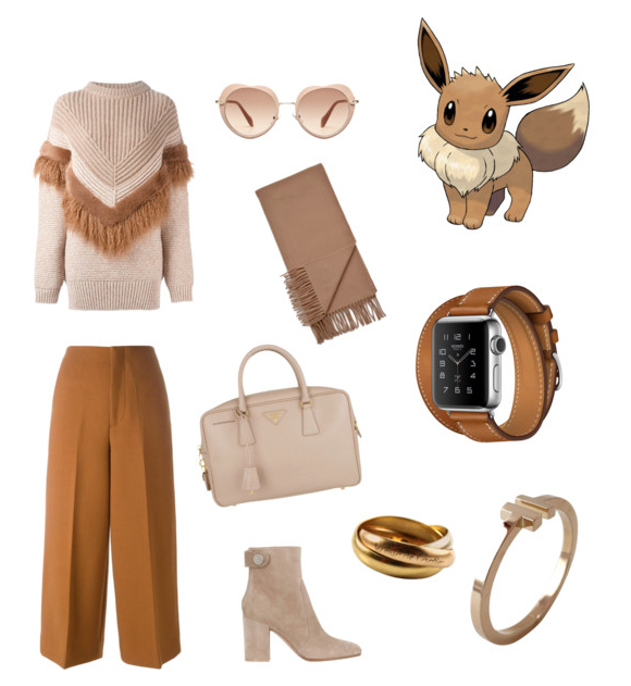 Eevee look idea.