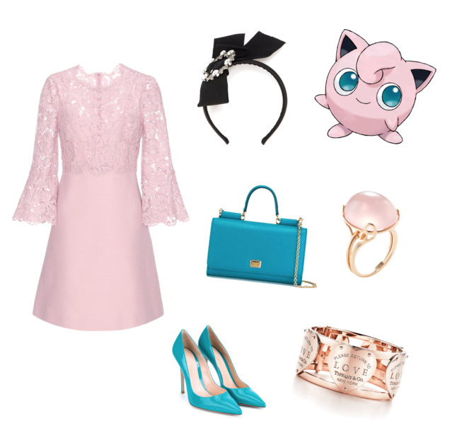 Jigglypuff look idea.