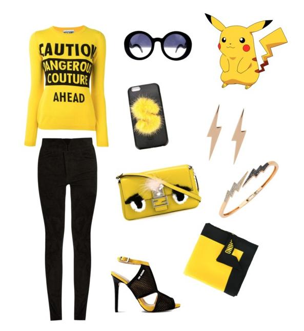 Pikachu outfit idea.