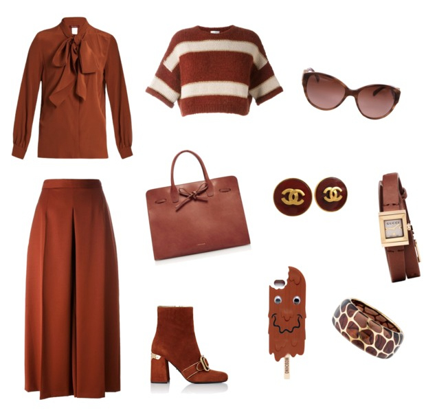Potter's Clay color outfit.