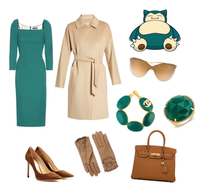 Snorlax outfit idea.