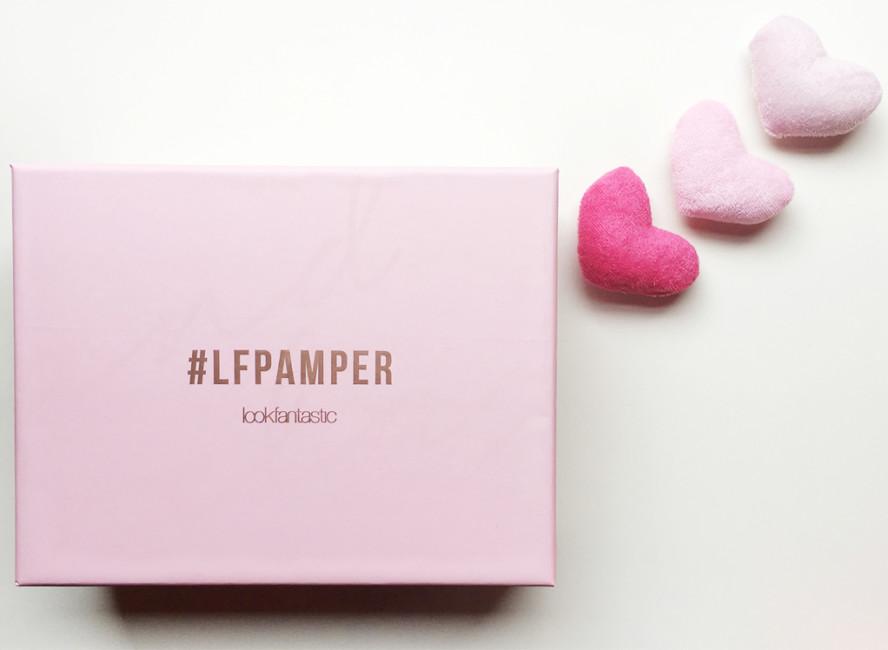 Lookfantastic beauty box #LFPAMPER.