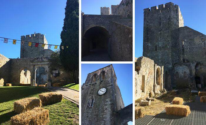 Castelo de Palmela a Setubal.