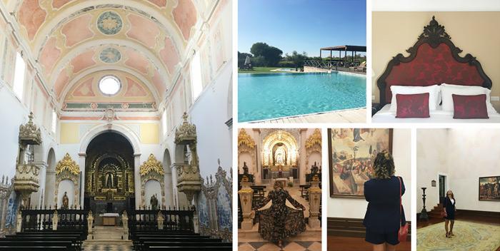 Luxury Hotel Spa Convento Do Espinheiro a Evora in Portogallo.