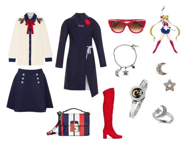 Sailor Moon modern outfit inspiration.