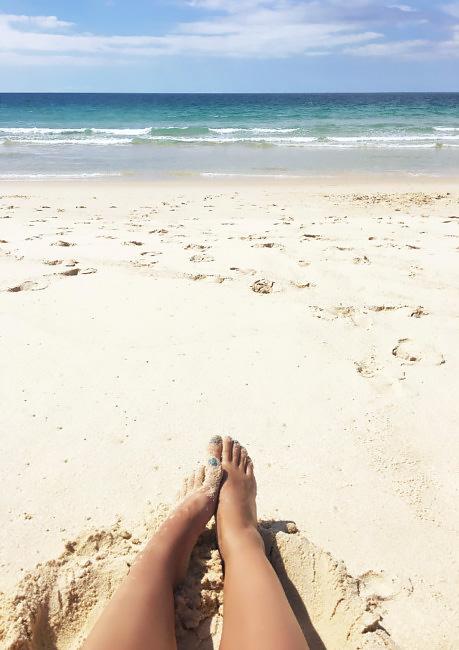 Spiaggia bianca di Comporta.