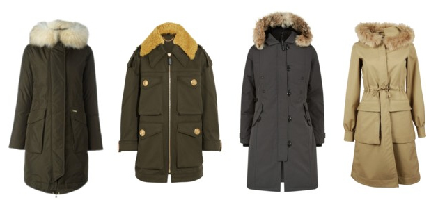 Indispensable outerwear, parka.