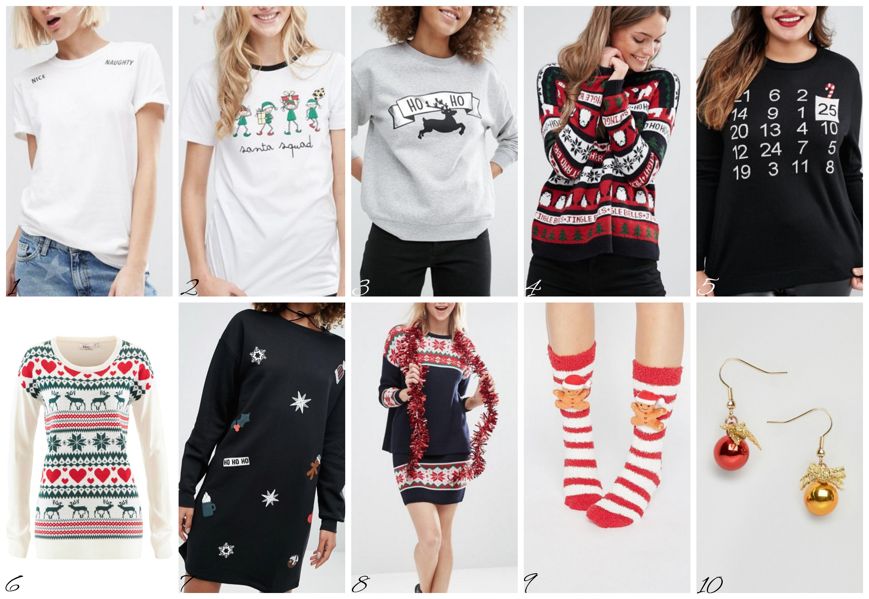 Top del mese. Moda donna Natale - Top of the month. Christmas Fashion.