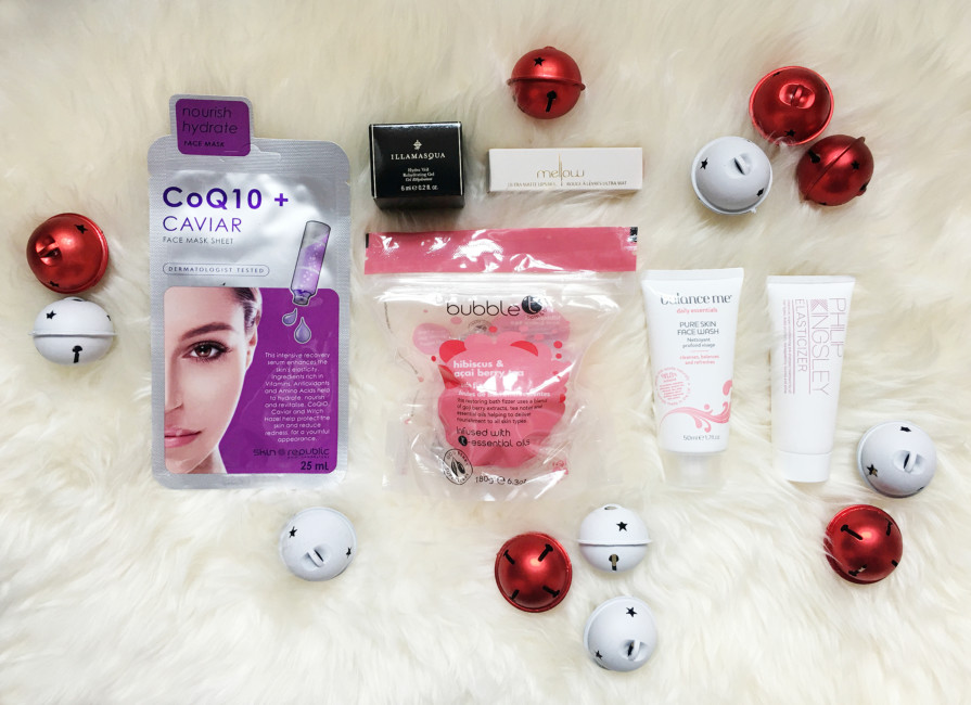 Products Christmas beauty box by Lookfantastic.