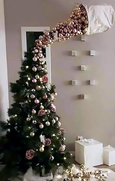 Alberi Di Natale Originali.10 Idee Originali Per Un Albero Di Natale Fai Da Te Blog Di Moda