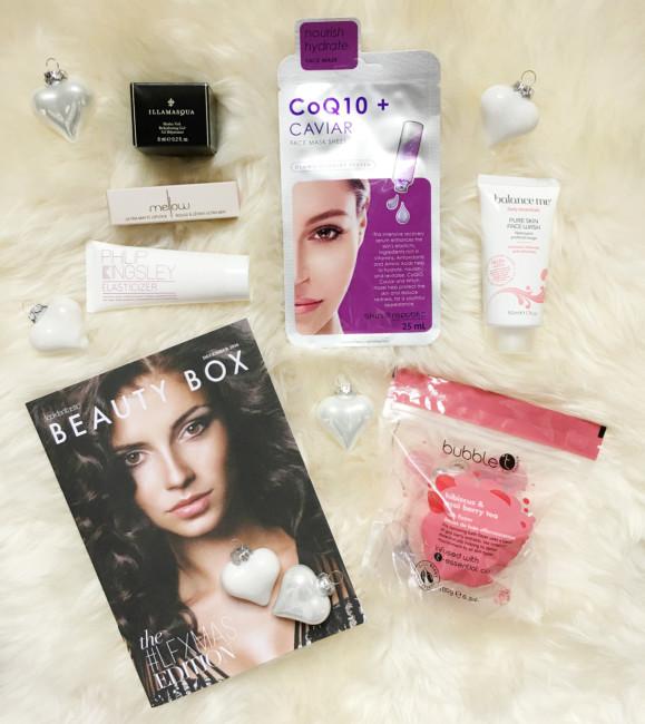 Prodotti christmas beauty box LFXMAS by Lookfantastic.